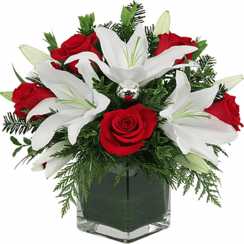 Image of the Christmas Gift floral arrangement