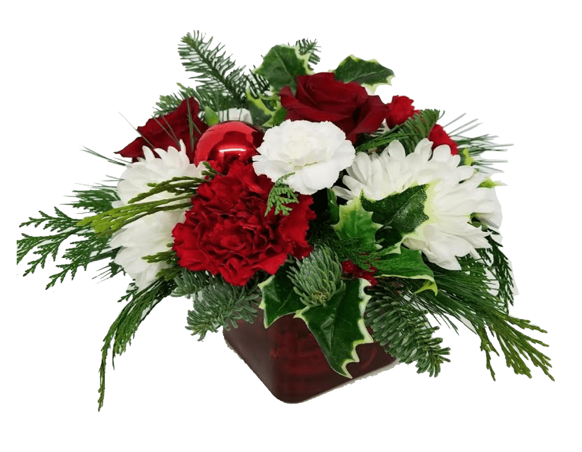 Image of the Make Merry floral arrangement