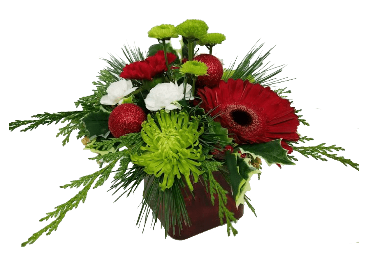 Image of the Merry and Bright floral arrangement