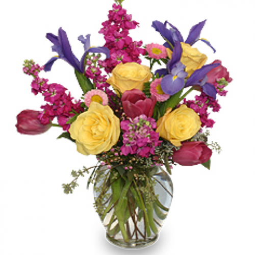 Image of the Water Color Flowers arrangement
