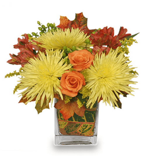 Image of the Windy Autumn Day floral arrangment