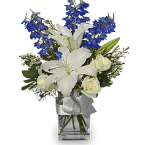 Image of the Winter Flowers floral arrangement