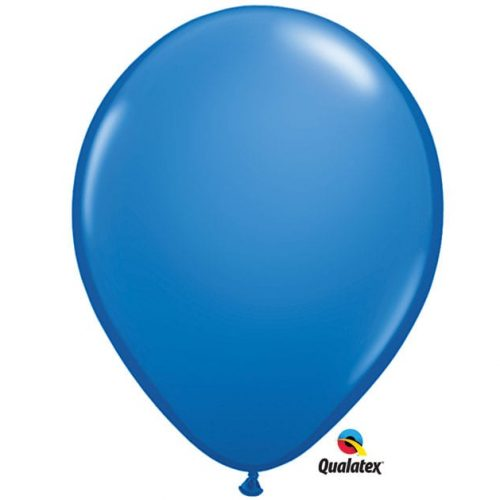 Image of the Blue Qualatex Balloon