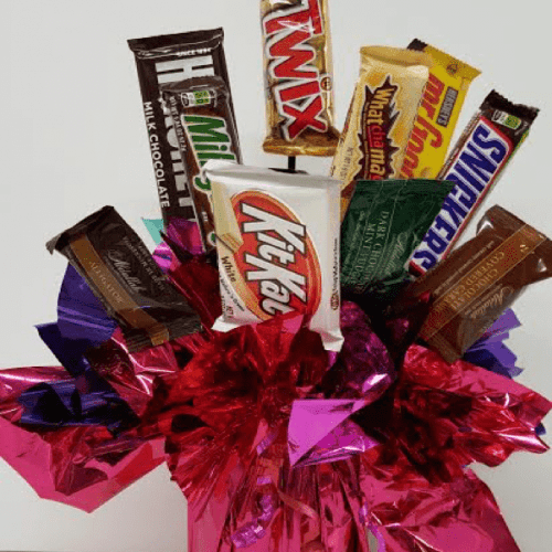 Image of thePremium Candy Bar Bouquet