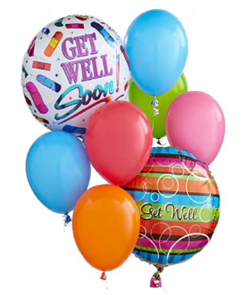 Image of the Get Well Balloons