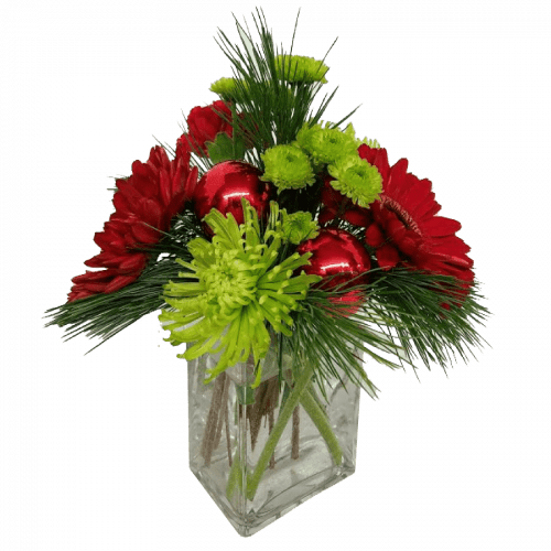 Image of the Holiday Cheer floral arrangement