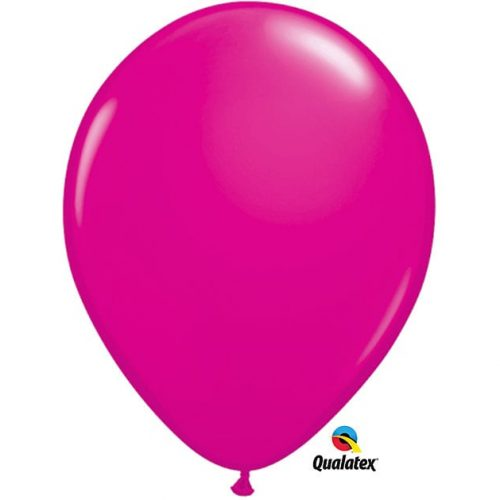 Image of the Hot Pink Qualatex Balloon