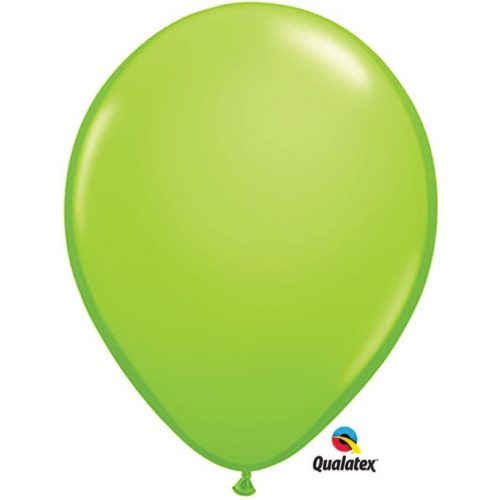 Image of the Lime Green Qualatex Balloon