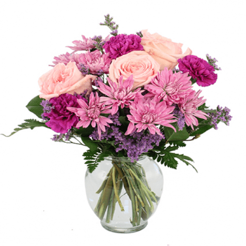 Image of the Look Lovely! Lavender floral arrangement
