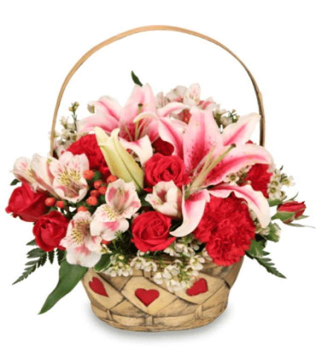 Image of the My Heart is Yours floral arrangement