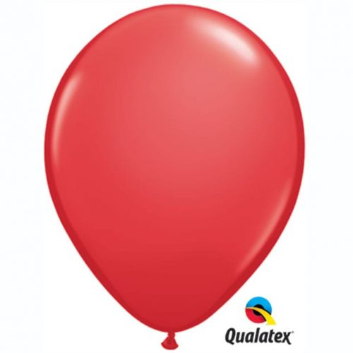 Image of the Red Qualatex Balloon
