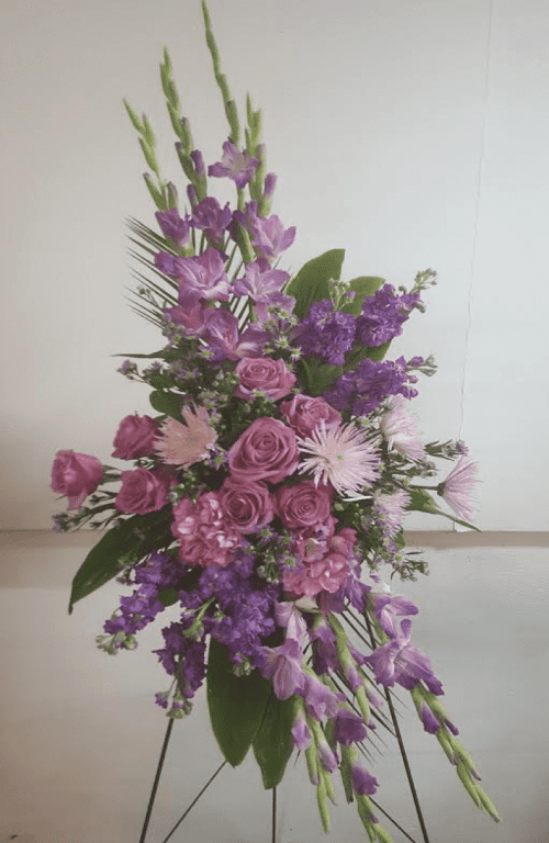 Image of the Reflections of Love floral arrangement