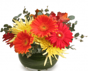 Image of the Setting Sun Fall Floral Arrangement