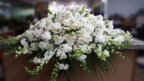 Image of the Casket Spray floral arrangement