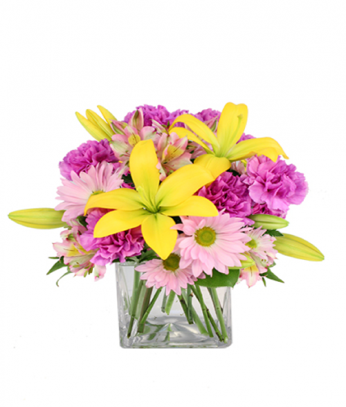 Image of the Spring Forward floral arrangement