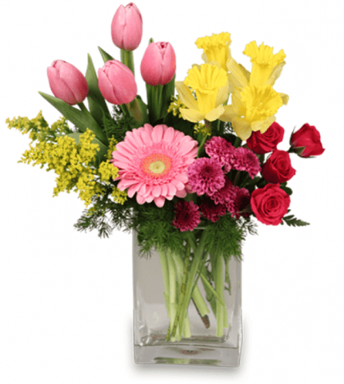 Image of the Spring is in the Air floral arrangement