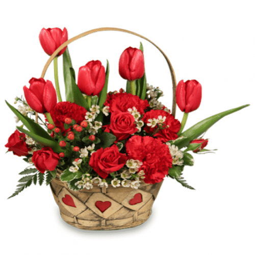 Image of the Sweet Love floral arrangement