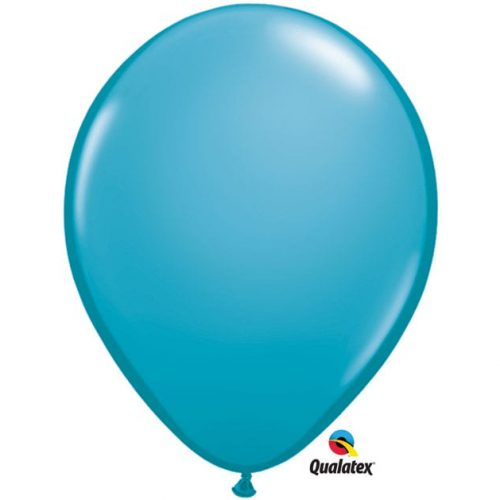 Image of the Teal Qualatex Balloon