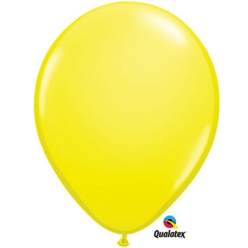 Image of the Yellow Qualatex Balloon